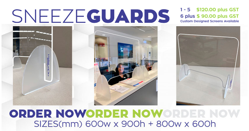 Protective Screens - Sneeze Guards
